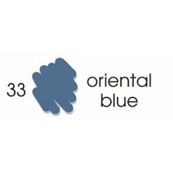 Маркер-кисть акварельный Marvy Artists Brush Восточный синий (№33, Oriental Blue)