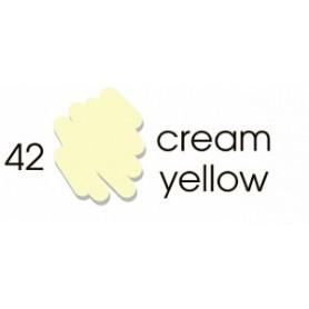 Маркер-кисть акварельный Marvy Artists Brush Кремовый (№42, Cream Yellow)