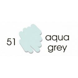 Маркер-кисть акварельный Marvy Artists Brush Серый аква (№51, Aqua Grey)