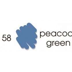 Маркер-кисть акварельный Marvy Artists Brush Павлин зеленый (№58, Peacock Green)