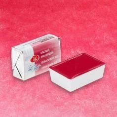 """Акварельная краска красный хинакридон """"Белые ночи"""", кювет 2.5 мл."""