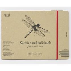 Альбом SM-LT Authentic Cream 24.5x17.7 см., 36 л., 80 г/м2.