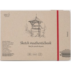 Альбом SM-LT Authentic Natural 24.5x18 см., 32 л., 100 г/м2.