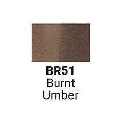 Маркер двусторонний Sketchmarker Жженая умбра (SMBR051,  Burnt Umber)
