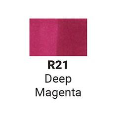Маркер двусторонний Sketchmarker Глубокий Пурпурный (SMR21, Deep Magenta)