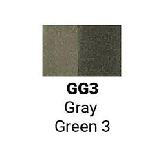 Маркер двусторонний Sketchmarker Зеленовато-серый 3 (SMGG3, Green Gray 3)