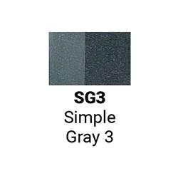Sketchmarker Простой серый 3 (SMSG03, Simple Gray 3)