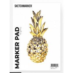 Склейка Sketchmarker Marker Pad А5, 75 г/м2, 50 листов