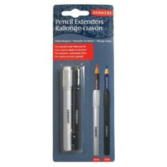 Набор удлинителей (держателей) для карандаша Derwent, 2 шт.
