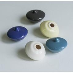 Крышечка для чернильницы-непроливайки, керамика (10 цветов)
