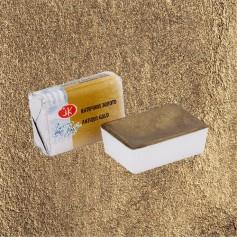 Акварельная краска Античное золото Белые ночи, кювет 2.5 мл.