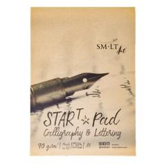 Альбом SM-LT Calligraphy & Lettering Start Pad, А5, 30 л., 90 г/м2.