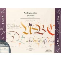 """Альбом для каллиграфии Lana """"Calligraphie"""", 24х32 см., 12 л., 250 г/м2."""