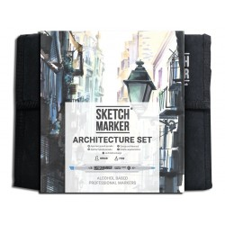 Набор маркеров SKETCHMARKER Architecture 36 set - Архитектура