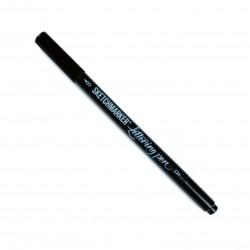 Черная двухсторонняя ручка Sketchmarker Lettering Pen (перо 0.7мм + кисть)