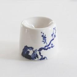 Чернильница-непроливайка керамическая Сакура
